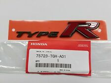 NEW GENUINE HONDA 2017 CIVIC TYPE R REAR TYPE R EMBLEM 75723-TGH-A01