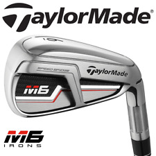 TAYLORMADE M6 IRONS 5-SW +REGULAR KBS MAX 85 STEEL SHAFTS @ 40% OFF RRP !!!!!!