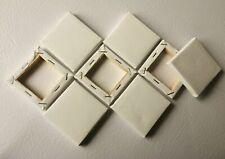 12x12 Pulgadas Conjunto De 2x 30x30 Cm En Blanco estirado Lona Gesso Primed 100/% Algodón