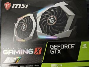 MSI NVIDIA GeForce GTX 1660 Super 6GB GDDR6 Graphics Card (G166SGX)