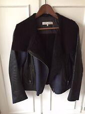 Leather biker jacket Gerard Darel