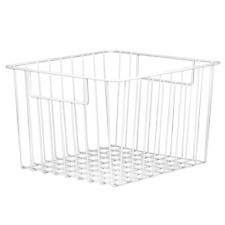 Set of 2 Mesh Wire Storage Baskets for Home Kitchen and Garden Arrangers