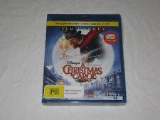 A Christmas Carol - Disney - Brand New & Sealed - Region B - Blu Ray + DVD