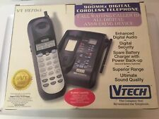 Vtech 900 Mhz Digital Cordless Telephone Answering Call Waiting Vt 1970ci Used