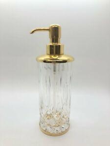 Labrazal Cut Crystal Pump Dispenser