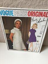 Vogue Paris Original Guy Laroche #2247 Mod Dress, Uncut, Size 12