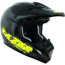 Lazer Helmet MX7 Full Face Helmet - Carbon Black Flash Yellow