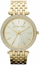 MICHAEL KORS mujer Darci Pavé Reloj Tono Dorado MK3191