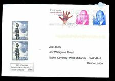 Spain 2008 Airmail Cover To UK #C2064