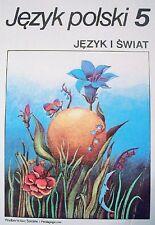 MARIA NAGAJOWA - JĘZYK POLSKI 5: JĘZYK I ŚWIAT - BOOK, 1997