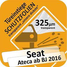 SEAT ATECA da 2016 PORTA APPROCCI Gonna AUTO PROTEZIONE VERNICE PELLICOLA