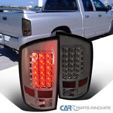 For 02-06 Dodge Ram 1500 2500 3500 Pickup Smoke LED Tail Lights Rear Brake Lamps