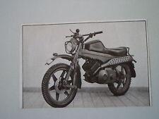 - RITAGLIO DI GIORNALE ANNO 1974 - MOTO HAGGLUNDS
