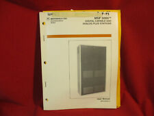 Motorola Msf 5000 Digital Capable and Analog Plus Stations User Manual