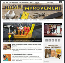 * HOME IMPROVEMENT * blog website business for sale with AUTO CONTENT UPDATES