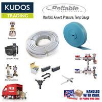 Wet Underfloor Heating Multi Zone Room Kit  5 Layers Pipe 20- 200m² Options