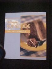 Vintage Almost Homemade Cake Mix Desserts Easy Recipes Baking
