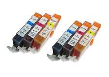 6 NON-OEM INK CARTRIDGE CANON CLI-226 C M Y PIXMA MG5120 iX6520 MG8120B MX710