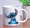 Custom Personalize Stitch with Glasses Lilo Coffee Cup Gift Mug