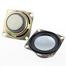"""2pcs 2"""" inch 4Ohm 3W Full Range Audio Speaker Stereo Woofer Loudspeaker 52mm New"""