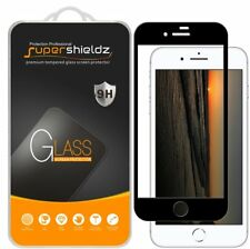 2X Supershieldz Apple iPhone 8 Full Cover Tempered Glass Screen Protector