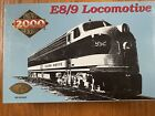 HO Scale Proto 2000 8710 FEC Florida East Coast E8/9 Diesel Locomotive #1035
