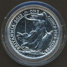 Great Britain Uk 2013 Britannia £2 1 Troy oz. Commemorative Silver Coin
