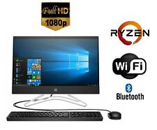 "HP 24"" All-in-One Computer 1080p FHD Display 8GB 1TB AMD Ryzen 5 Turbo 3.70GHz +"