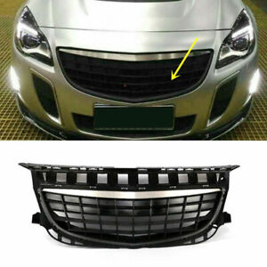 Black ABS Front Grille Grill Mesh For Buick Regal GS/irmsche 2014-2016