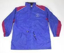 VTG REEBOK Sport Boundless Windbreaker Jacket XL Blue 90s Mesh Vented Hood Nylon
