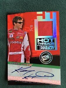 2006 Press Pass Kasey Kahne Hot Threads autograph firesuit relic card 7/9