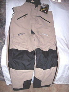 Mens 3X Tall Bib Overalls Genuine Goretex Rain Pants Non Insulated Bib Coveralls