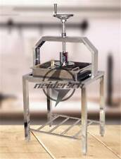 12kg/h Commercial stainless steel hand tofu press molding machine NEW