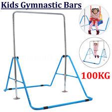 Kids NEW Gymnastics Bar Jungle Training Monkey Bar Adjustable Horizontal Kip Gym