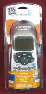 Dymo Letratag Plus LT-100H Label Maker, NEW, Personal Labelmaker, Large Display