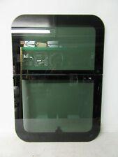 BLACK LCI FRAMELESS 24 X 35 RV CRANK OUT WINDOW TRAVEL TRAILER CAMPER 24X35