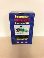 Emergency Survival Canteen Kit With Water Filtration System
