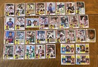 1984 CALIFORNIA ANGELS Topps Complete MLB Team Set 34 Cards JACKSON CAREW JOHN!