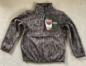 Drake Waterfowl Ladies Endurance 1/4 Zip Fleece Lined Hunting Shirt Size XS