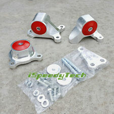 Red Replacement Turbo Engine Mount Kit FOR Acura RSX Honda Civic SI EP3 2.0L