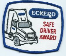 Eckerd Drug safe driver award patch 3-1/8 X 3-5/8 #2095 sold to Cvs 2004