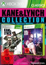 Microsoft XBOX 360 Spiel Kane & Lynch 1 Dead Men + 2 Dog Days Collection and und