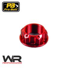Honda CBF 600 N 2004-2010 Probolt Red Yoke Steering Stem Nut
