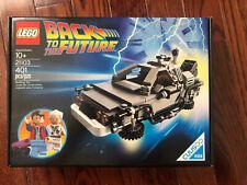 NEW Lego 21103 Back to The Future Delorean Time Machine, SEALED!