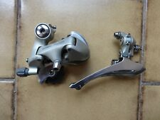 Vintage Shimano 105 mini-groupset front and rear derailleur L'Eroica