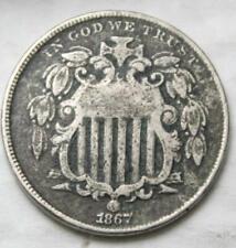 United States 1867 Shield Nickel