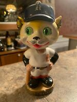 Vintage 1960s Detroit Tigers Bobblehead Nodder with Gold Base - FREE SHIPPING! ✅