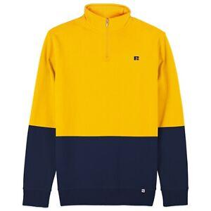 Russell Athletic Sweatshirt - Walter Embro Logo 1/4 Zip Sweat
