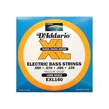 D'addario El. Bass Nickel Wound 050-105 EXL-160, I2*