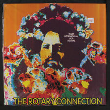 ROTARY CONNECTION: Texas International Pop Festival  LP (Luxembourg , orange v